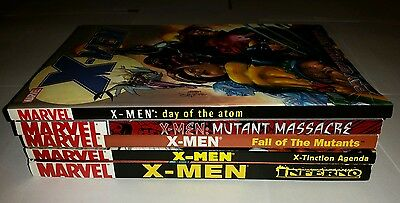 X-men: Inferno, X-tinction agenda, fall of the mutants, mutant massacre, Atom
