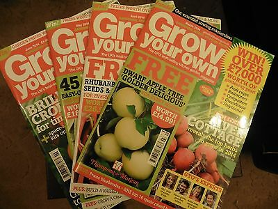 Grow Your Own Magazines March to June 2014