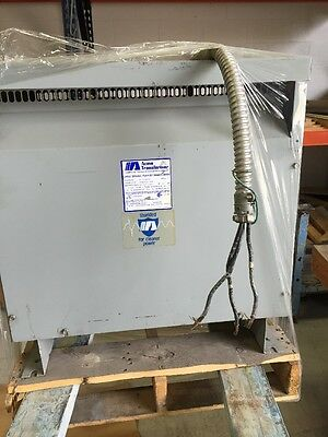 Acme Large General Purpose Transformer 30kVA 60 HZ Cat# t-3-53342-3s.  Style G