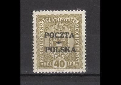 POLAND 1919 Cracow stamp fi.40** mint never hinged