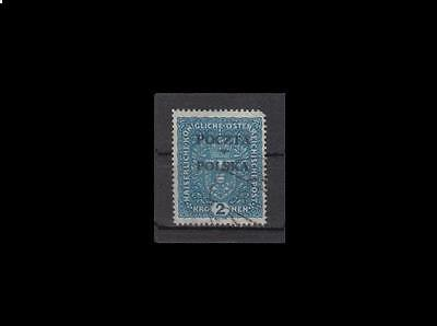 POLAND 1919 Cracow stamp fi.46 used
