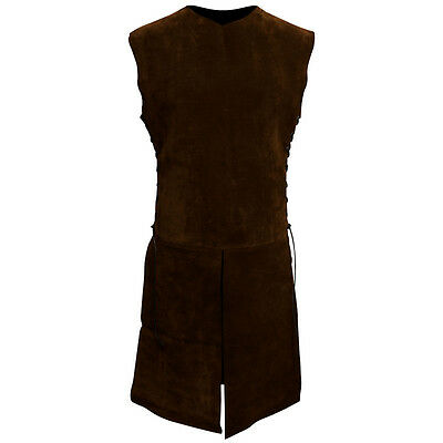 Deluxe Heavy Grade Suede Medieval Surcoat Perfect For Re-enactment Stage or LARP