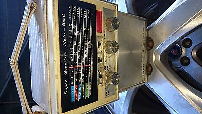 Vintage Citizen Radio Battery Mains With Mains Lead