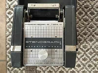 Stenograph Reporter Model Stenographic Machines, Inc. Skokie, Illinois