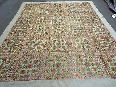 7'X 9' Antique Hand Woven Silk Tapestry Wall Hanging Embroidered Middle East Wow