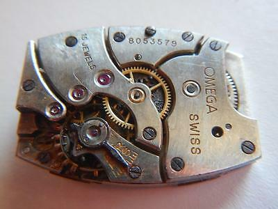 OMEGA 20F Watch Movement Vintage 1930's 15 Jewels