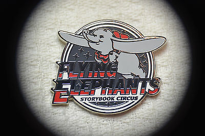 Disney Pin 115813 WDW -  Mascots Mystery - Storybook Circus Flying Circus Dumbo
