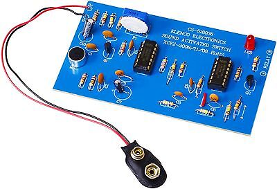 ELENCO K-36 Sound Activated Switch Soldering DIY KIT (Just clap your hands)