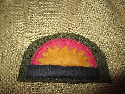 WWI US Army 41st Infantry Division patch  AEF
