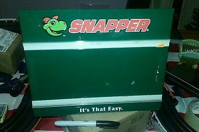 Snapper Lawn Mower- Advertising Store Counter Display-Sign