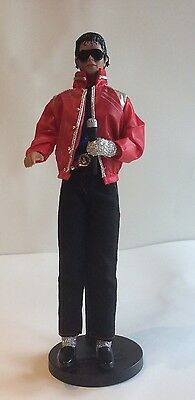Michael Jackson Doll Collectable, Beat It Outfit