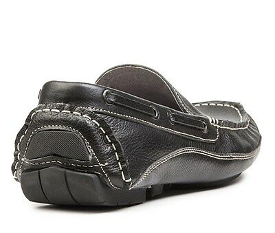 New Designer Luxury Leather Shoes Men's Slip-on Loafers Brown 7.5