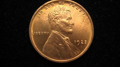 1925 Uncirculated Lincoln Cent~~Very Nice Philadelphia Issue