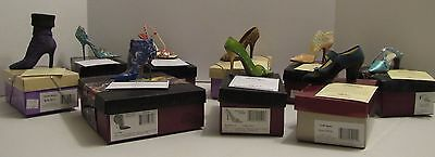 JUST THE RIGHT SHOE By Raine  LOT OF 9  Spearmint #1 Fan Fashionista Exquisite