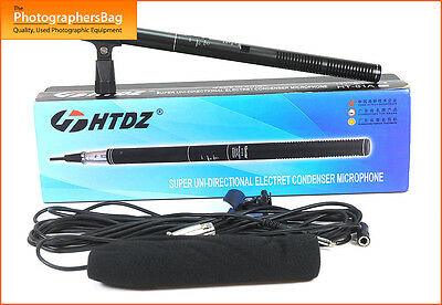 HTDZ HT-81 Super Uni Directional Electret Condenser Mic Microphone  Free UK PP