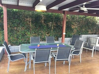 8 piece Outdoor Setting