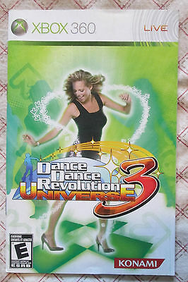 Xbox 360 - Dance Dance Revolution 3 Universe (Bilingual manual only)