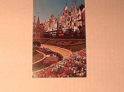 VINTAGE Disneyland Post Card It's a Small World