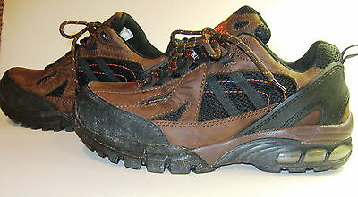 Nautilus Safety Footwear N1700 Sz 8 1/2 X/XW US Athletic Style Work Boots Brown