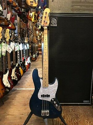 Bacchus BJB-98 JIRO Blue Gig bag Bass guitar From JAPAN Free shipping #T684