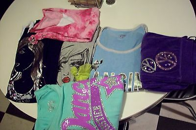 Girls clothes size 18 Justice mixed lot of 6