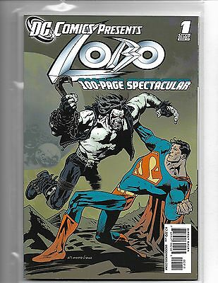 Dc Comics Presents Lobo #1 One-Shot 100 Page Spectacular Superman