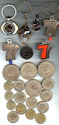 Large Lot Of Casino Memorabilia - Tokens & Key Chains