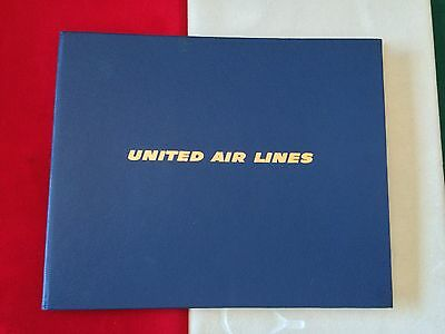 Old United Airlines Class Photo with Stewardess Diploma from July 1961