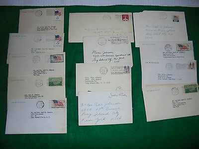 Letters from the white house 13 total Presidential Historical political