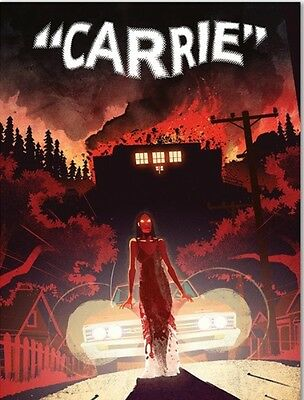 Carrie Deluxe Limited Edition 1976 Scream Factory 2 Posters Sold Out