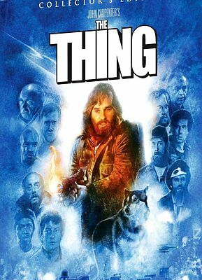 The Thing 1982 Scream Factory Deluxe Limited Edition 2 Posters SOLD OUT