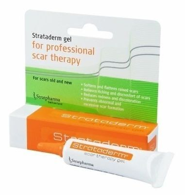 Strataderm Scar Therapy Gel Stretch Marks Old And New 10G
