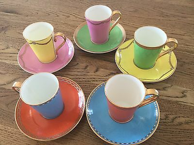 Gorgeous Royal Collection Fine China Coffee Set