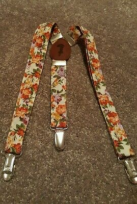 Lacey Lane Paisley Suspenders