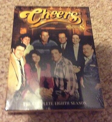 Cheers - The Complete Eighth Season 8 (DVD, 2006, 4-Disc Set) BRAND NEW