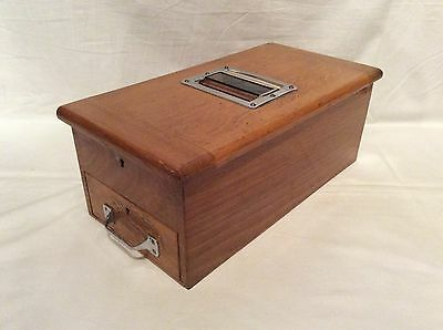 Antique wooden shop counter cash register till draw (Fully Working with Bell)