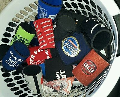 40 x stubbie holder collection, Beer coolers and bar runner