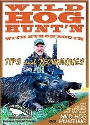Wild Hog Hunt'n with Byron South ~ Boars Hunting Calling ~ DVD NEW