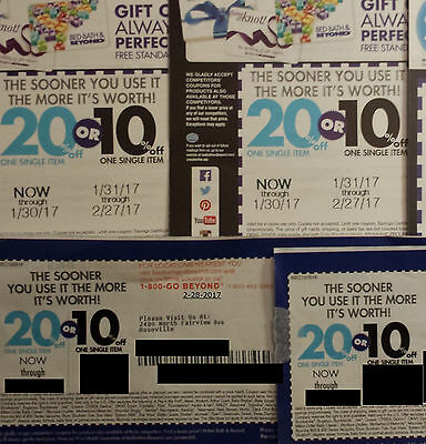 4 NEW Bed Bath & Beyond coupons Exp Feb 2017