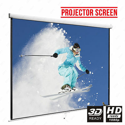 """81"""" Projector Screen Wall Ceiling"""