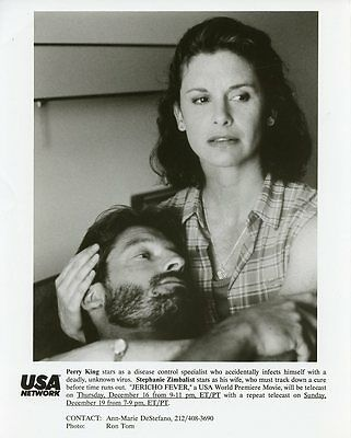Stephanie Zimbalist Perry King Jericho Fever Original 1988 Usa Tv Photo