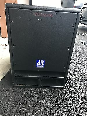 dB Technologies SUB12 And A  Stage Line PAK-110MK2 10'' Powered top 200w.