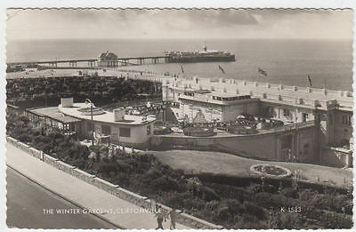 Vintage Postcard Of The Winter Gardens Cliftonville Margate Kent Posted 1964