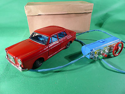 Bandai Made in Japan Volvo 164  Blechspielzeug Auto - Tinplate
