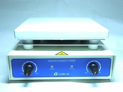 Safety magnetic stirrer with heating ( Hotplate with stirring )