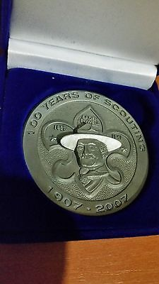 Scout medal. 100 years of scouting Australia