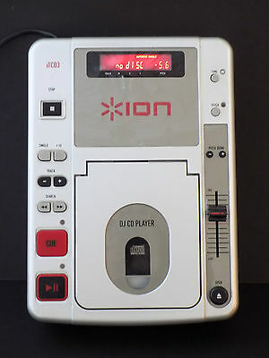 Ion iT03 Professional DJ CD Player Disco (View video in listing)