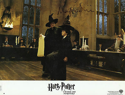 Maggie Smith Autographed Pic. Harry Potter