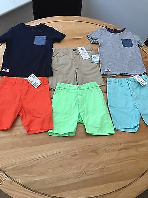Boys Summer Clothes Bundle 2-3 Years Next H&M