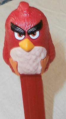Angry Birds - PEZ Dispenser - Made in Hungary Rot